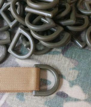 Wojskowe półkole D-ring 25mm