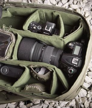 Wymienny moduł na sprzęt fotograficzny do plecaka Geron