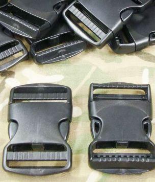 Klamra zatrzaskowa 50mm obustronnie regulowana