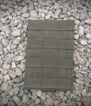 Molle panel with velcro
