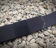 2x Elastic belt loop 45mm for belt 'Bastil'