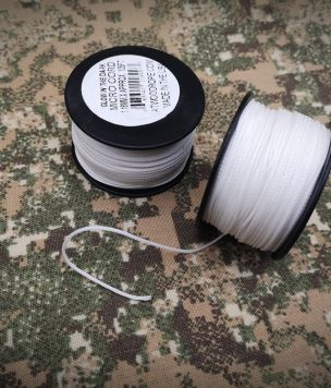 GITD Tactical Microcord 100 USA made cordage 1,18mm