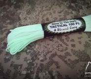 Tactical Cord 275 reflective USA made cordage GITD