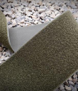Taśma rzep pętelka 100mm Army Green Alfatex 50cm