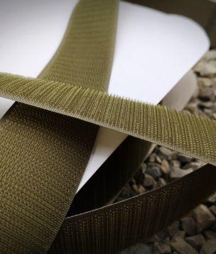 25m- Velcro tape 38mm Ranger Green hook ROLL