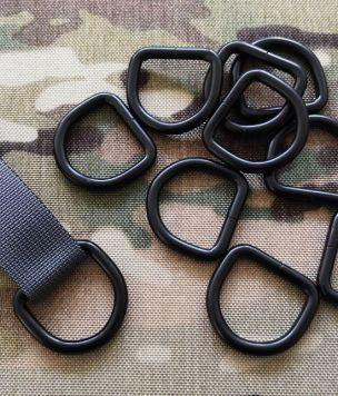 Metalowy D-ring MOCNY 25mm 26/25/5