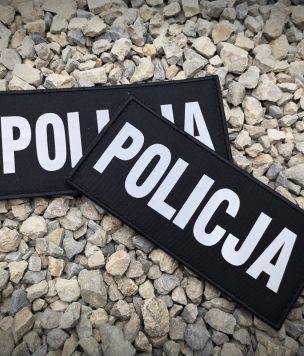 Narzepka POLICJA odblaskowa