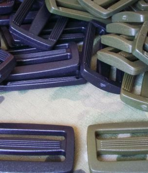 Military webbing tri-glide slider 50mm