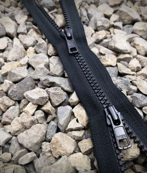 Zipper 25cm, two-slider VISLON 5VS YKK lock