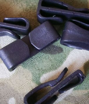 Military webing Hook 25mm for MOLLE