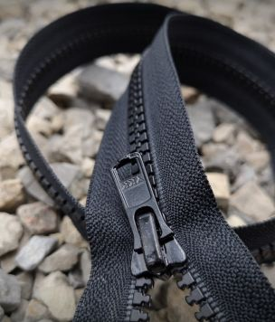 Zipper 60cm, two-slider VISLON 5VS YKK lock