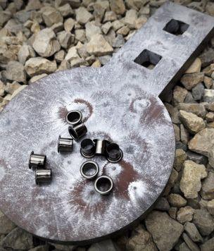 Metalowe oczko 7mm do 2x płyta Kydex® 2,4mm