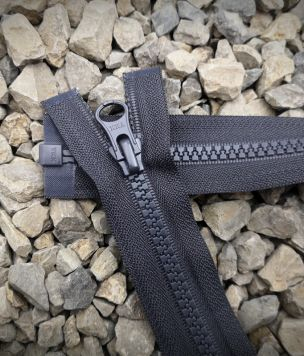 Zipper VISLON 5VS YKK lock grey