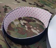 Samoprzylepny rzep pętelka 50mm Velcro® czarny 50cm