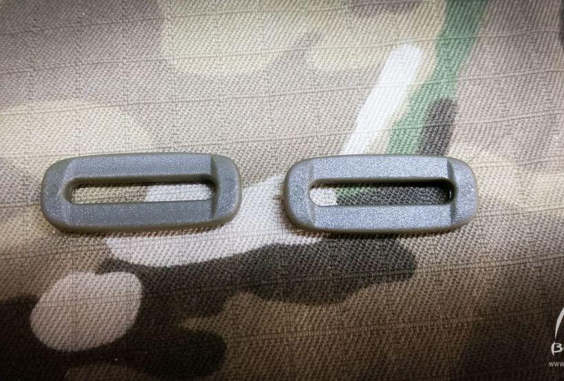 2x WOJSKOWE Okienko ramka 20mm