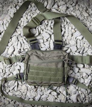 Разгрузочные подтяжки для поясной сумки Baribal - chestrig