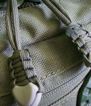 Paracord zipper pull Cord End