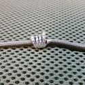 Metal Rock Yeah bead silver