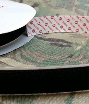 Samoprzylepny rzep pętelka 25mm Velcro czarny 50cm