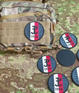 "Morale patch ""Last hope of Europe"""