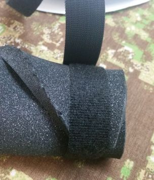 Velcro One Wrap tie webbing 25mm - 10cm