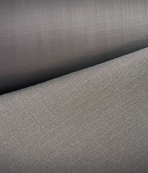 SAMPLE gray Ripstop PCV fabric