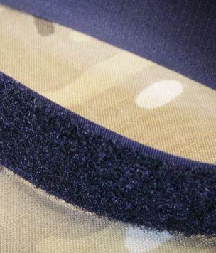 25m - Taśma rzep pętelka 25mm Velcro ® Brand czarny ROLKA