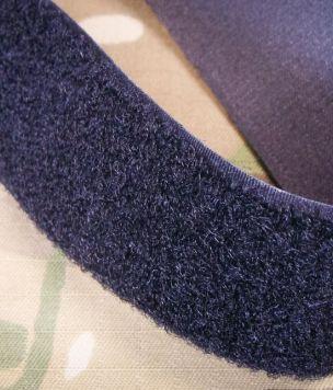 25m- Taśma rzep pętelka 38mm Velcro® czarny ROLKA