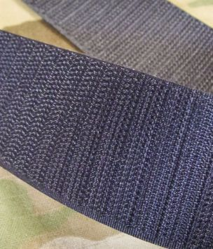 25m- Taśma rzep haczyk 38mm Velcro® czarny ROLKA