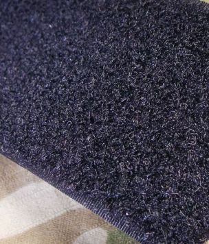 25m-Taśma rzep pętelka 50mm Velcro® czarny ROLKA