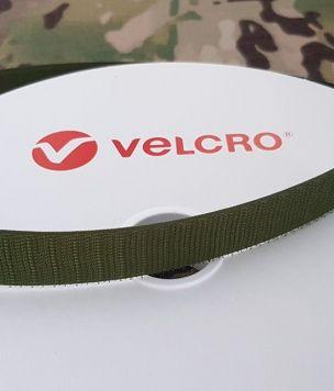 Крючок лента-липучка 25 мм «Velcro®» bottle green