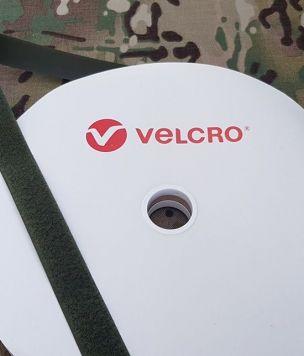 Петля лента-липучка 25 мм «Velcro®» bottle green