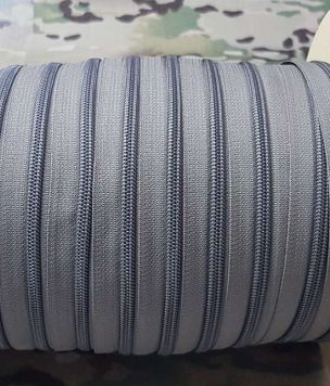 50cm YKK ® 8RCF zipper tape continous coil 8mm