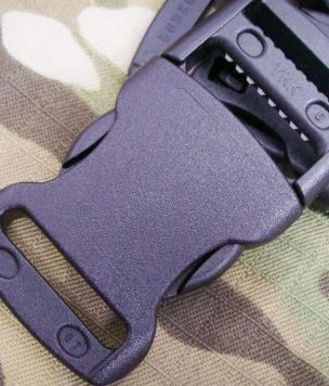 YKK® 25mm side buckle Acetal