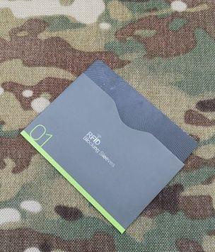 Etui na kartę z ochroną RFID poziome