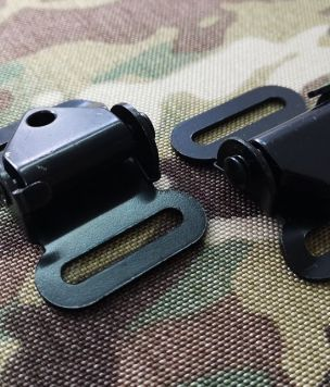 Metal cam buckle for 25mm webbing