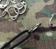Metalowy Karabińczyk zawieszka na klucze