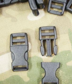 2x Klamra zatrzaskowa 10mm regulowana