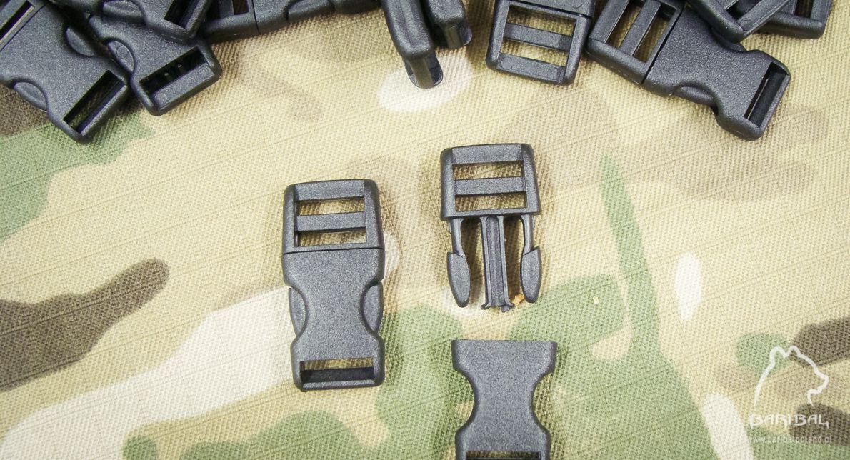 Klamra zatrzaskowa 10mm regulowana