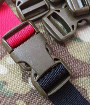 Wojskowa klamra 25mm dwustronnie regulowana
