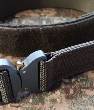 Internal wais belt with velcro tape for tactical Cobra-belt