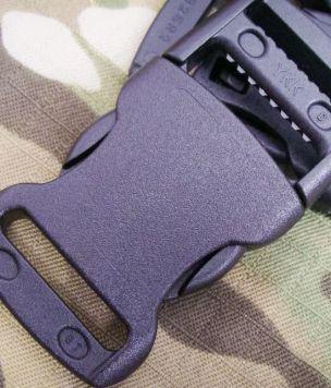 100 szt. -opakowanie- Klamra YKK® 25mm czarna