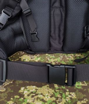 Profiled padded waist belt for Geron 35l backpack