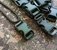 Side release fastex buckle curved for bracelet