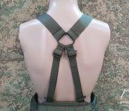 """Lowprofile """"X"""" type tactical belt harness"""