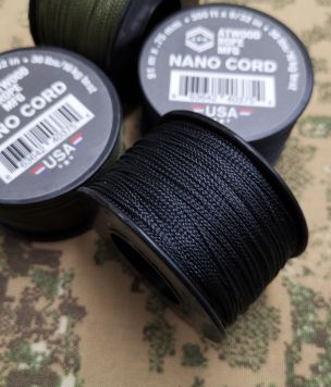 Tactical Microcord 100 USA made cordage 1,18mm