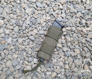 Fast pistol magazine pouch