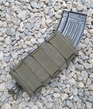 Ładownica na magazynki Szybka PRO M4/AK Długa Kydex