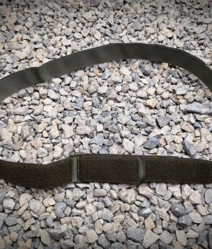 Adjustable belt with velcro - inner belt