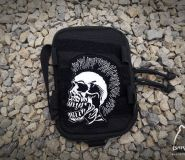 Skull - morale patche + Velcro